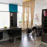 Arbeitsbereich Friseursalon Ecke